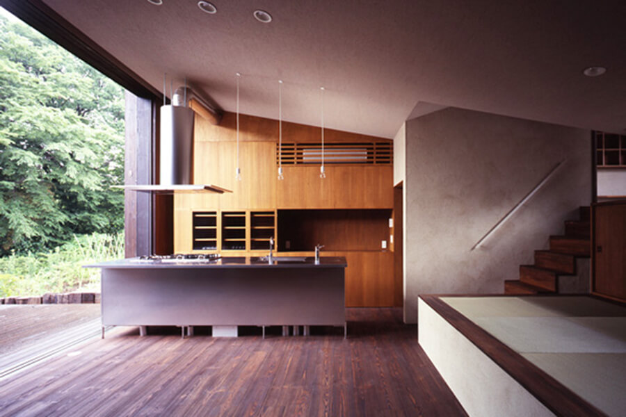 teak-kitchen